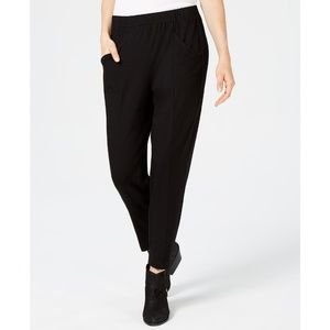 Eileen Fisher Tapered PullOn Organic Cotton Pants